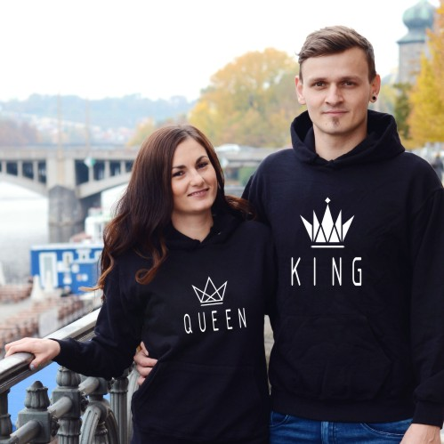 mikiny pro páry King&queen 5