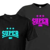 SUPER BOY and GIRL